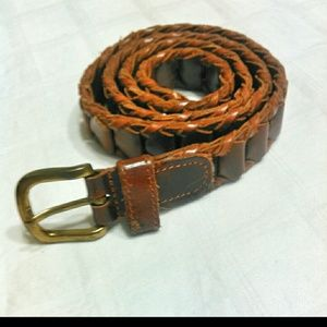 Genuine leather belt made in Argentina